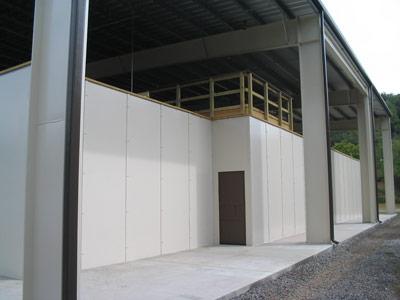 Exterior Walls of Savage Range System Shoot House