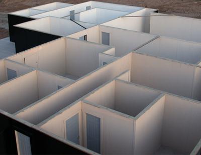 Interior Walls of Savage Range System Shoot House